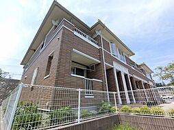 千葉県成田市久住中央2丁目の賃貸アパートの外観