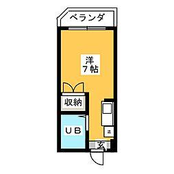 ミリアン稲沢駅前[1階]の間取り