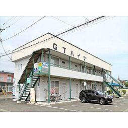 北海道北見市末広町の賃貸アパートの外観