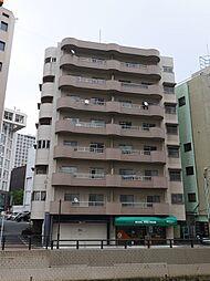 福岡県北九州市小倉北区船場町の賃貸マンションの外観