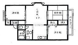 アットハウス松谷I[2階]の間取り