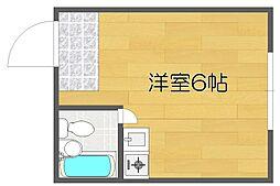 ベルコモンズ西加賀屋[3階]の間取り