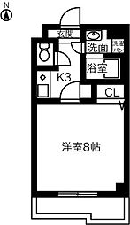 神領ステーションビル[409号室]の間取り