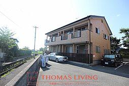 福岡県遠賀郡水巻町伊左座1丁目の賃貸アパートの外観