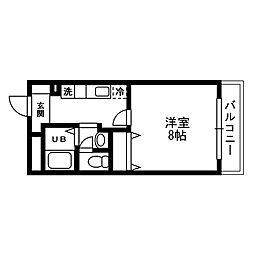 K・Rソナーレ[107号室]の間取り