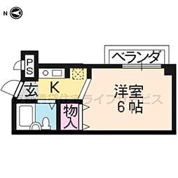 七条ソフィア[305号室]の間取り