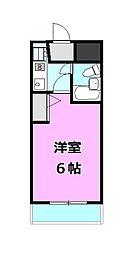 ダイホープラザ橋本[2階]の間取り