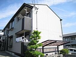 奈良県奈良市左京3丁目の賃貸アパートの外観
