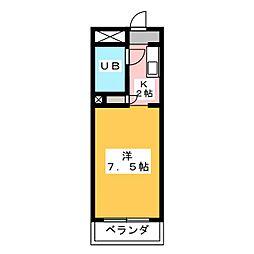 サンシャイン富士パートI[1階]の間取り