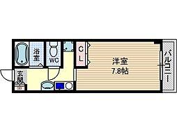 ドマーニ[2階]の間取り