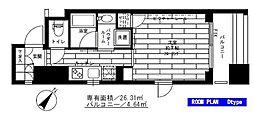 ステージグランデ新川[2階]の間取り