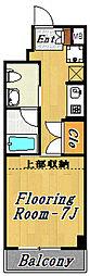 アクア1[4階]の間取り