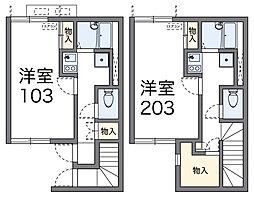 Komiya[1階]の間取り