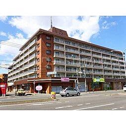 北海道札幌市豊平区平岸六条13丁目の賃貸マンションの外観