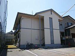 新潟県新発田市大栄町1丁目の賃貸アパートの外観