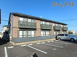 岐阜県美濃加茂市山手町2丁目の賃貸アパートの外観