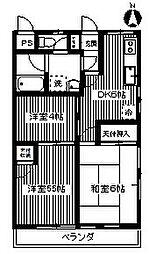 第8池田マンション[4階]の間取り
