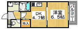 サニーコート[2階]の間取り