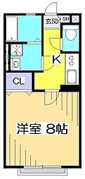 シティパル小金井[2階]の間取り