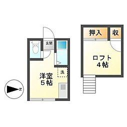 武蔵小金井駅 1.9万円