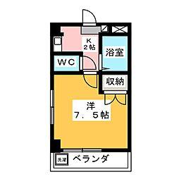 栄ビル[3階]の間取り