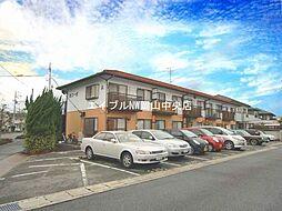 岡山県岡山市中区さい東町2丁目の賃貸アパートの外観