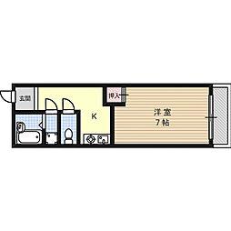 サクラハウス[1階]の間取り