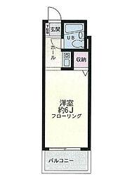 バローネ湯澤[202号室]の間取り