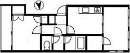 アルカディア東麻布[2階]の間取り