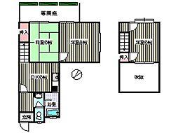 金本ハウス[1階]の間取り