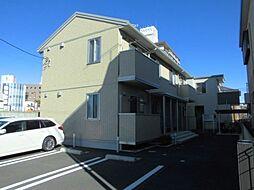 群馬県前橋市石倉町の賃貸アパートの外観