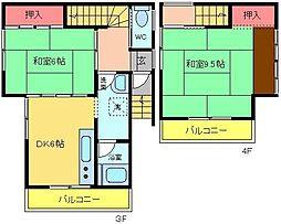 第三小澤ビル[301号室]の間取り