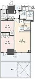 ブランズ横浜[4階]の間取り