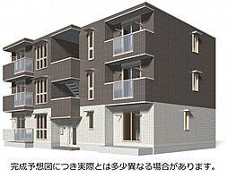 広島県福山市明治町の賃貸アパートの外観