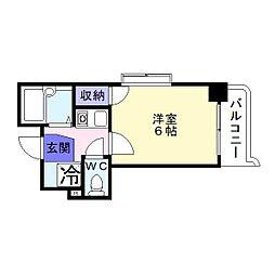 ロフトアビックス[2階]の間取り