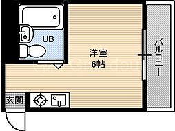 エトワール内代[3階]の間取り