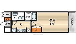 今福鶴見駅 徒歩2分4階Fの間取り画像