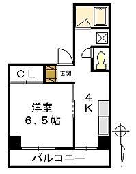 第2KTビル[3階]の間取り