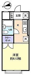 TSKコート八千代[2階]の間取り