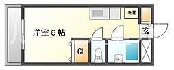 ユニックス神戸西[2階]の間取り