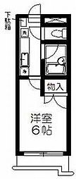 宮城県仙台市青葉区小松島4丁目の賃貸マンションの間取り
