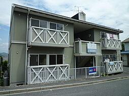 岡山県倉敷市羽島の賃貸アパートの外観