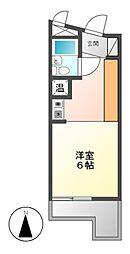 メゾン・ド・チクサ[2階]の間取り