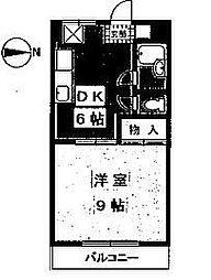 マンションふじ[301号室]の間取り