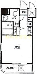 グリフィン横浜・アネシス[3階]の間取り