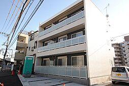 埼玉県越谷市大字蒲生の賃貸マンションの外観