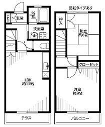 サンステージ斉藤 III[1階]の間取り