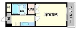 ファイブ尾崎[4階]の間取り