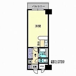 グレースタワー[508号室]の間取り