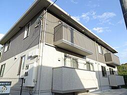 プレリュード京賀[2階]の外観